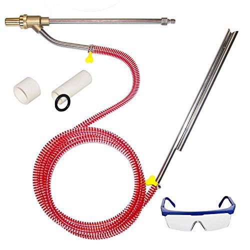 Hourleey Pressure Washer Sandblasting Kit, Dustless Sand Blasting Kit...