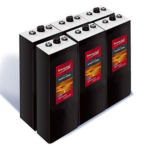 Batería Solar Estacionaria 2V 537Ah C-100 | 6 UNIDADES | 30% + Baratas que Baterías OPzS |...
