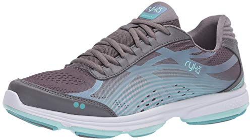 Ryka Women's Devotion Plus 3 Walking Shoe, Quiet Grey, 5