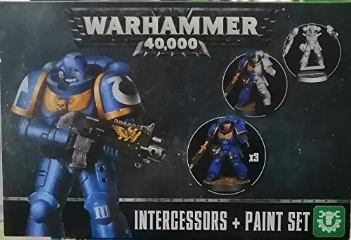 Warhammer 40.000 Intercessors & Paint Set, Tabletop