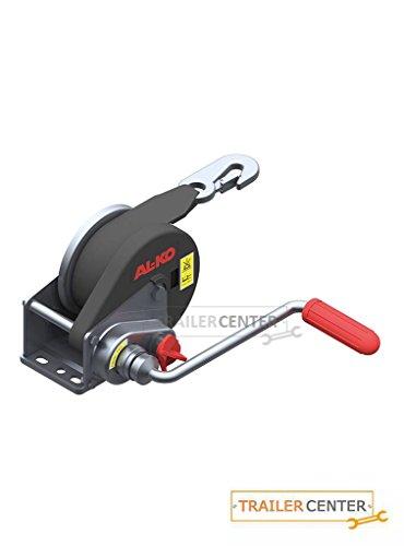 AL-KO- Seilwinde gebremst BASIC • Typ 450 A mit Abrollautomatik • mit 6m Band zum Schleppen bis 450kg