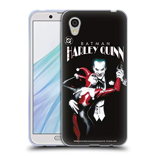 Head Case Designs Offizielle Joker Batman: Harley Quinn 1 Darsteller Kunst Soft Gel Huelle kompatibel mit Sharp Aquos Sense2 SHV43