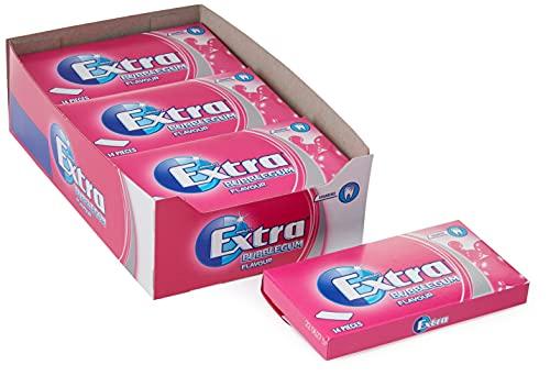 Wrigley's Chicles Extra para Niños, 12 Paquetes de 14 Mini-Tiras