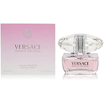Versace Bright Crystal By Versace for Women Eau-de-toillete Spray, 1.7 Fl Oz
