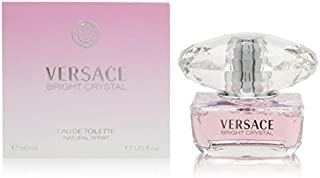 Versace Bright Crystal by Versace for Women - Eau de Toilette, 50ml