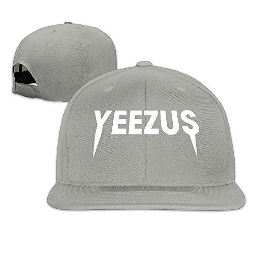 Z-Jane Kanye West Yezzus Outdoor Baseball Cap Hip Hop Cap Adjustable Snapback Flat Bill Black