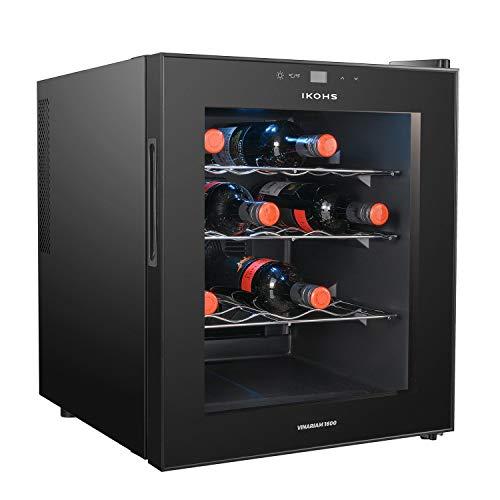 IKOHS VINARIAM 1600 - Vinoteca de 16 botellas, 46 l, 70 W, L