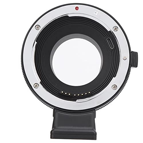 214 Anillo Adaptador de Lente de Enfoque automático de Metal EF-FX, para Lente de Montura para Canon EF/EF-S para Fujifilm X-T1 / X-T2 / X-T20 / X-A1 / X-A2 / X-A3 / X-A5