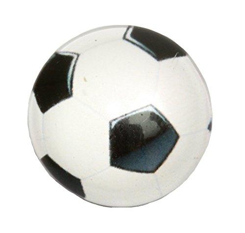 Chunk Chunks Button Wechselschmuck Fussball Ø 18mm