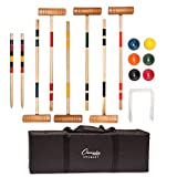 Best Croquet Sets - Champion Sports Deluxe Croquet Tournament Set Review