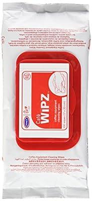 Urnex Caf? Wipz, 100-Count Bag