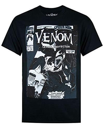 Marvel Venom Comic Tonal Men's T-Shirt