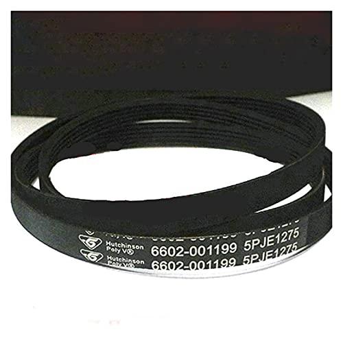 GIS Cinturones de transmisión de Correa de transmisión Cinturones de Goma para Lavadora de Tambor Samsung (6602-001199 5PJE1275) Piezas de reparación