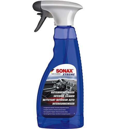 SONAX XTREME Limpiador para el interior del vehículo (500 ml) para la limpieza higiénica en el vehículo y en el hogar | N.° 02212410-544