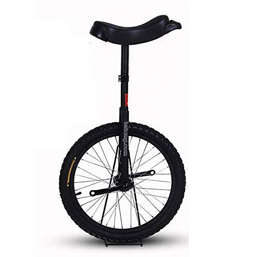 ALBN Monociclo Unisex Adulto Monociclo Bicicleta de Equilibrio con Pedales Antideslizantes, 16/18/20 Pulgadas, A Partir de Los 7 Anos, para Ninos Grandes y Principiantes Cuya Altura 120-175cm