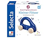 Selecta 64008 Kleiner Flitzer, Greifling - bellybutton, blau, 10 cm