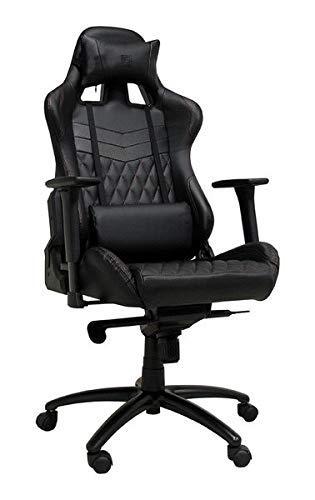LC-Power LC-GC-3 Gaming Stuhl, Leder, Schwarz