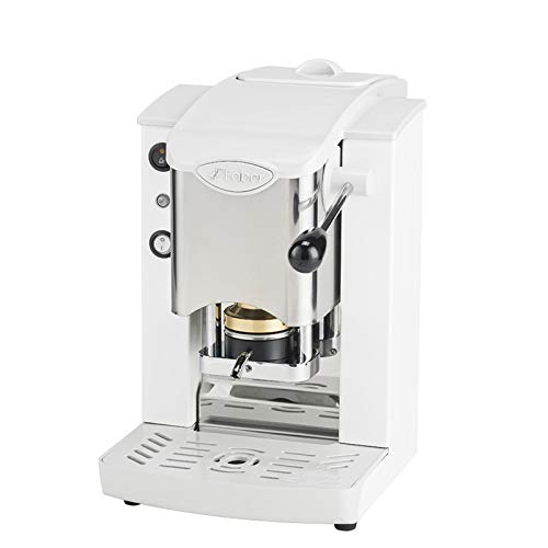 MACCHINA CAFFE A CIALDE IN CARTA ESE 44MM FABER SLOT INOX (BIANCO)