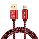 ULTRICS Cable Micro USB 1M, Charge Rapide et Données Synchro Cordon, Tressé Nylon Fil de Chargeur...