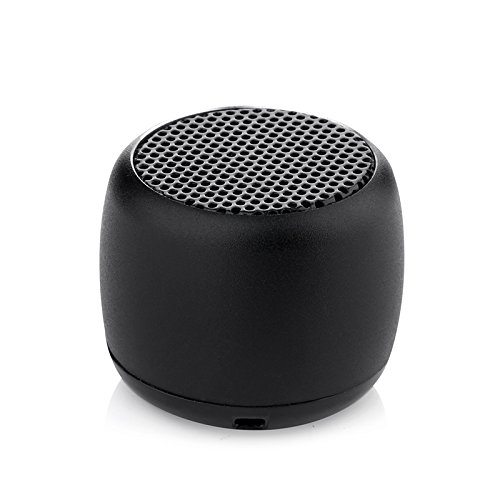 Portable Mini Wireless Bluetooth Speaker Coin Size Tiny Loud Pairable