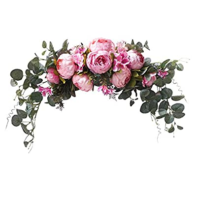 U'Artlines Floral Swag Artificial Flowers P...