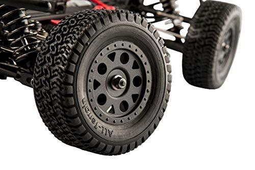 RC Auto kaufen Short Course Truck Bild 5: LC-Racing Mini Brushed Off-Road Short Curse Truck 1:14 RTR EMB-SCL | das perfekte Fahrzeug zum Einstieg in den RC-Car Sport | Brushed Antrieb | ca. 30 Km/h schnell | 4-Rad Antrieb | komplett Kugelgelagert | Öldruckstoßdämpfer einstellbar | Aluminium Kardanwelle | gekapselter Antrieb | Carbon Tuningteile erhältlich | Schnellladegerät und Fahrakku inklusive | diverse Umbaumöglichkeiten | viele Tuningteile erhältlich | Umbau auf Brushless möglich | sehr stabil durch Nylonkunststoff*