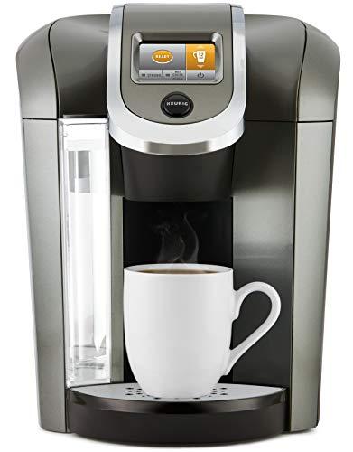 Keurig K500 Coffee Maker, Single Serve K-Cup Pod Coffee Brewer, Programmable Brewer, Black (Renewed)