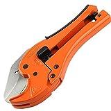 KSEIBI 141780 PVC Pipe Plumbing Tube Plastic Hose Cutter Pliers Tool 1/8-inch to
