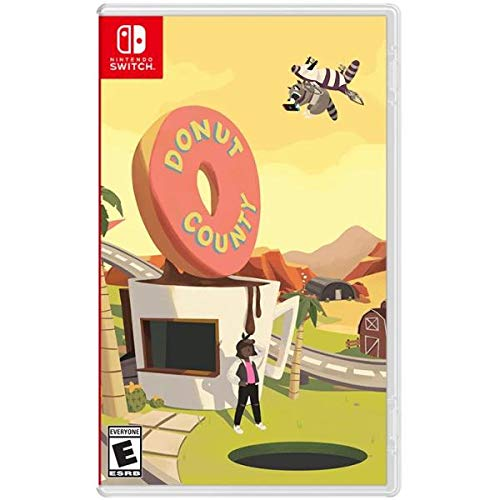 Donut County (Nintendo Switch Standard Edition) Video Game