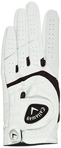 Callaway 2016 SynTech All-Weather Digitized Construction Mens Opti Fit Golf Gloves Left Hand XL