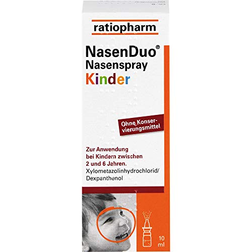 NasenDuo Nasenspray Kinder, 10 ml Lösung