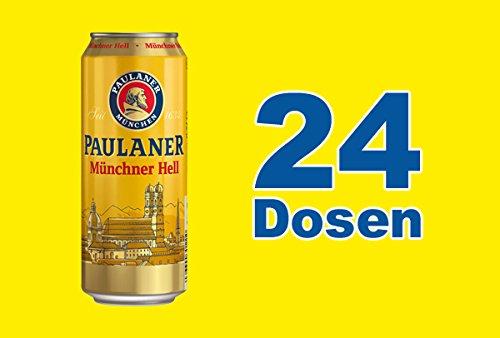 Paulaner Hell Original Münchener 24 x 0,5l Dose inkl. 6,00 Euro Pfand EINWEG
