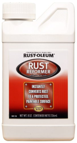 Rust-Oleum Automotive 248659 8-Ounce Rust Reformer Bottle, Black