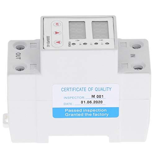 Dispositivo de protección de voltaje, recuperación de voltaje ABS, aplicación industrial para centro de mecanizado(63A)