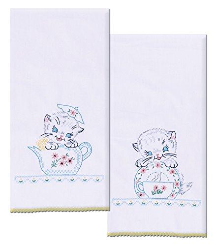 Top 10 Best Selling List for vintage kitten kitchen towels