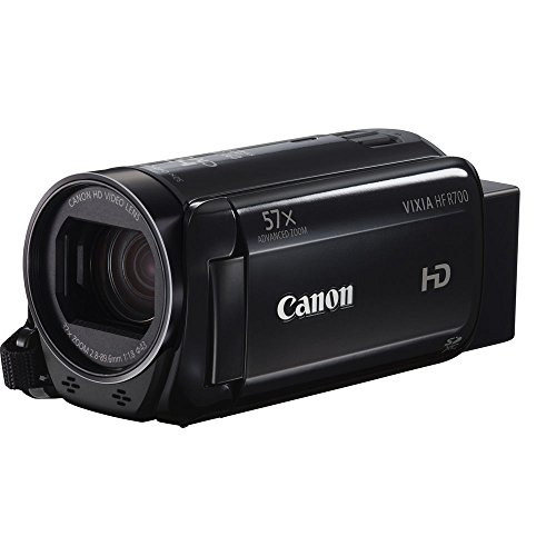 "Canon VIXIA HF R700 Full HD Camcorder with 57x Advanced Zoom, 1080P Video, 3"" Touchscreen and DIGIC DV 4 Image Processor - Black (Certified Refurbished)"