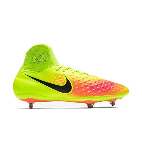 Nike Herren Magista Orden II SG Fußballschuhe, Amarillo (Volt/Black-Total Orange-Hyper Turq), 42.5 EU