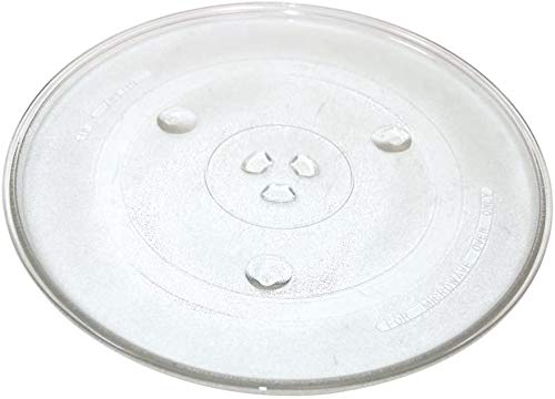 Utiz 270mm Microwave Turntable Glass Plate with 6 Fixers for AEG LG Bosch Daewoo Microwave Ovens