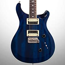PRS Paul Reed Smith SE Standard 24 Electric Guitar, Translucent Blue