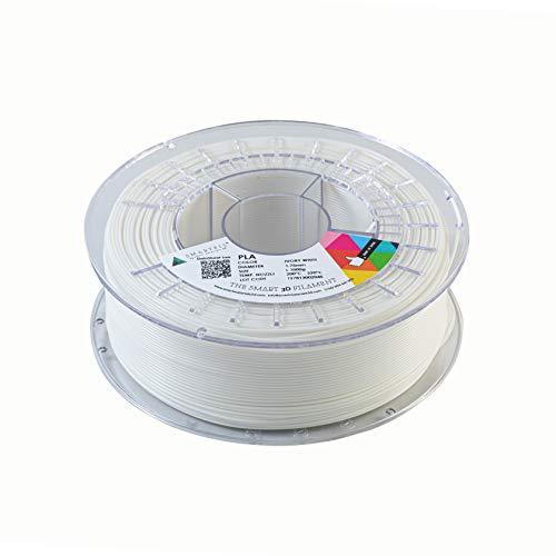 Smartfil PLA, 1.75 mm, Ivory White, 1000g Filamento para Impresión 3D de Smart Materials 3D