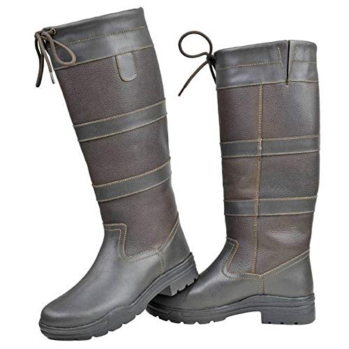 HKM Fashion Stiefel -Belmond Winter-, Dunkelbraun, 38