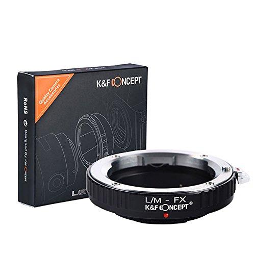 【国内正規品】K&F Concept マウントアダプター「L/M-FX」ライカMマウントレンズ x FUJIFILM(富士フイルム) Xマウントボディ