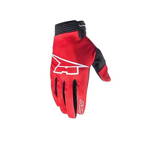 AXO Guantes Rookie, color Rojo, talla M
