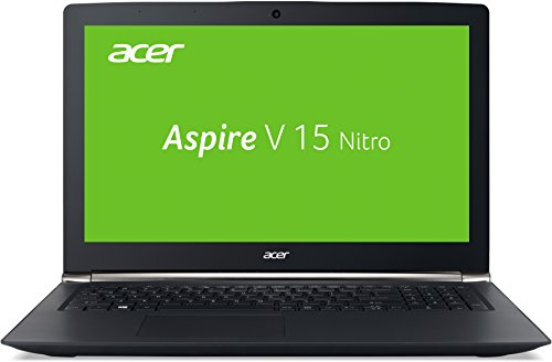Acer Aspire V 15 Nitro (VN7-572G-54YG) 39,6 cm (15,6 Zoll Full HD IPS) Laptop (Intel Core i5-6200U, 2,8GHz, 8GB DDR4-DDR4-RAM, 1TB HDD, NVIDIA GeForce 945M, DVD, Win 10 Home) schwarz