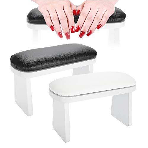 Art Manicure-kussen, handsteun voor nageldesign, manicure, handsteun, nail art-manicure, manicure, handkussen voor armsteun, manicure, salon, nagelkussen, tafel, schrijftstation zwart
