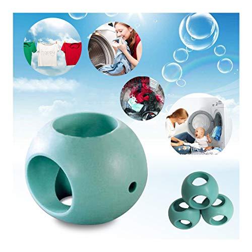 AMhomely Wäschekugel/Magnetische Wäschekugel/Waschkugel für gereinigtes Wasser - Gamma Magnetic Wäsche-Ball Wäsche-Ball für Waschmaschine und/oder Spülmaschine (Grün)