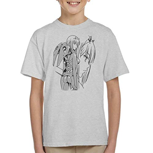 Zero Two Profile Darling in The Franxx Kid's T-Shirt