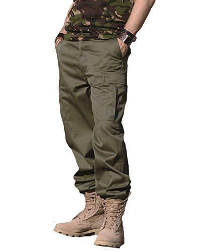 Mil-Tec Herren US Ranger Hose Typ Bdu Rangerhose, OLIV, L