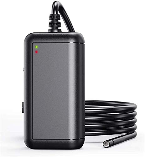 YUKM 5.5Mm 2.0MP Endoskop-Kamera, 5M Hard Wire WiFi HD1080P Check-Kamera, IP67 wasserdichte Autoinspektionskamera