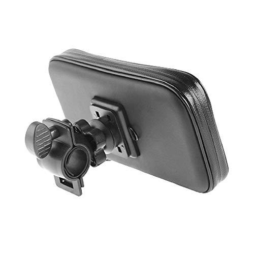 DFV mobile - Supporto Professionale per Manubrio Bicicletta e Motocicletta Girevole Impermeabile 360 º Compatibile con Blackberry DTEK60 / Argon (2016) - Nero